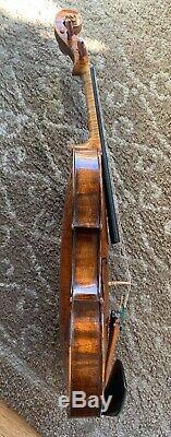 Rare 18th Century Viennese Violin by Joannes Georgius Huber Very Fine Tone