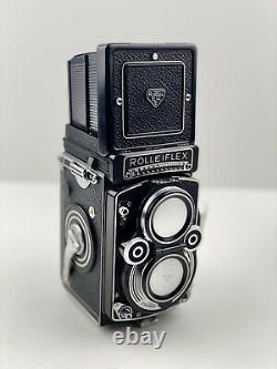 Rolleiflex 3.5F Xenotar TLR Medium Format Camera CLA'd, VERY FINE 1961
