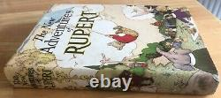 Rupert Bear Annual 1936 FINE Inscribed in Very Scarce Original VG Dust Wrapper