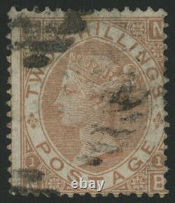 SG121 2/- Brown NB very fine used, light cancel