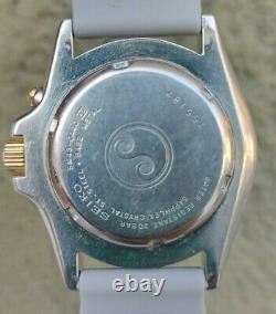 Seiko Kinetic Sport 200 Vintage Very Rare Mens Watch Works Fine Good Condition