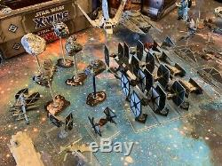 Star Wars X-Wing Miniatures Core Games & 40+ Expansions Very Fine Quality (Lot)