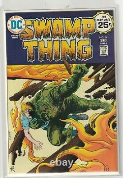 Swamp Thing #'s 1, 8, 14, 23 High Grade Lot