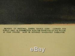 THE LEOPARD MAN Original 1943 Movie Poster, 27 x 41, C8.5 Very Fine/Near Mint