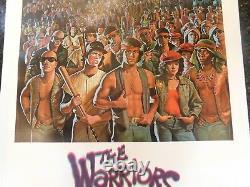 THE WARRIORS Original 1979 Movie Poster, 27 x 41, C8.5 Very Fine/Near Mint