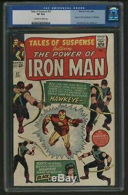 Tales of Suspense 57 Marvel Comics CGC VFN Great investment piece First Hawkeye