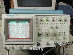 Tektronix 2467 350MHz 4 Channel Oscilloscope in Very Fine Condition