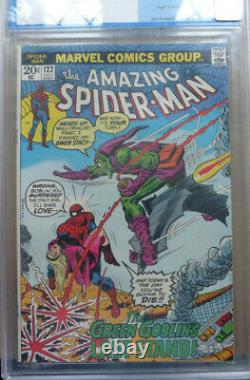 The Amazing Spider-man #122,'green Goblin's Last Stand', Cgc 8.5