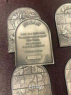 The Jerusalem Windows Fine Silver Ingots by Marc Chagall Very Rare # 542