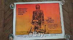 The Wicker Man (1973) Very Rare US Half-Sheet Christopher Lee Very Fine+