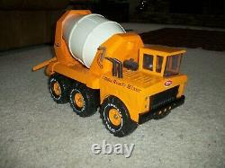 Tonka mighty cement truck jc. Penny first year very fine never used outside rare