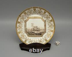 Very Fine Antique Nast Paris Porcelain Empire Period Saucer circa 1810