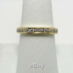 Very Fine Diamond 18k Gold Anniversary Wedding Ring (4952)