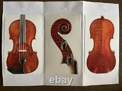 Very Fine Italian Violin labeled Farotti Warm, Rich, Expansive Tone