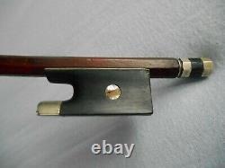 Very Fine Old French Violin Bow Pernambuco