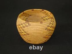 Very Fine Panamint cabinet basket, Native American Indian, Circa 1915