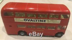 Very Fine Tri-ang Spot-On Routemaster London Transport Double Deck Bus unboxed