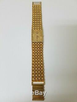 Very Fine Vintage Longines Gold Tone Dial Dress Bracelet Watch