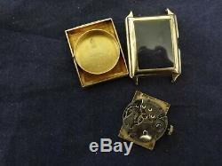 Very Fine Vintage Movado Curviplan 14K Solid Gold Watch