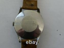Very Fine Vintage Pierce Triple Date Calendar Moon Phase Manual Wind Watch