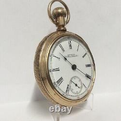 Very Fine Waltham Pocket Watch, 1883 Model, Grade No. 15, 15 Jewel, Gold Filled