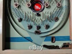 Very Fine Working Example of A True Antique 1962 Maruei Pachinko Machine