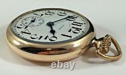 Very Nice Elgin B. W. Raymond Pocket Watch, 455, 16s, 19j, Running Fine