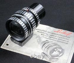 Very fine! Linhof Universalsucher Technika 9x12/4x5 75mm-360mm schwarz