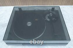 Very fine and highly regarded NAD 5020 semi-auto belt drive turntable, new belt