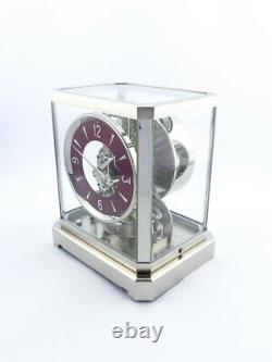 Very fine rare LeCoultre Atmos III Clock Caliber 519 from the early 50´s