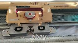 Very rare Knitmaster Empisal Fine gauge F 370 with ribber