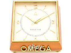 Very rare and fine shop window clock made by Omega Swiss in the 50ies