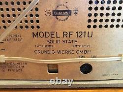 Vintage Grundig Radio RF 121U Very Fine Working Condition