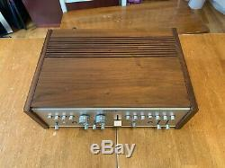 Vintage Sony TA-1150 INTEGRATED AMPLIFIER Very Nice example Working fine WOOD