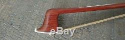 Violin Bow 4/4 silver mounted very fine Pernambuco #7
