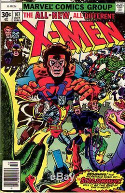 X-MEN #107 (Uncanny X-Men) Very Fine Back Issue