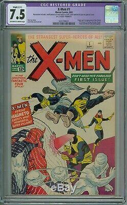 X-Men #1 CGC Graded 7.5 (Apparent SC1) 1st Appearance Of The X-Men