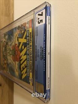 X-Men 101 CGC 7.5 White Pages, 1st Phoenix. Hot Key Book, UK Price Variant