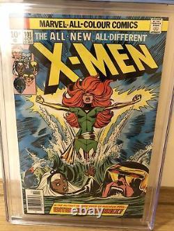 X-Men 101 CGC 7.5 White Pages, 1st Phoenix. Hot Key Book, UK Price Variant