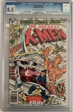 X Men #121 Cgc Vf+ (8.5) 1st Full App Of Alpha Flight / Newsstand (cents)