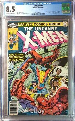 X-Men #129 CGC 8.5 (1980) 1st Kitty Pryde & White Queen (Emma Frost) High grade