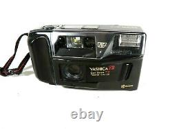 YASHICA T3 EAGLE EYE TESSAR 12,8/35 mm T WORKS FINE TESTED! VERY NICE CAMERA