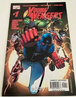 YOUNG AVENGERS Vol. 1 #1 Very Fine VFN 1st APP Kate Bishop Marvel 2005